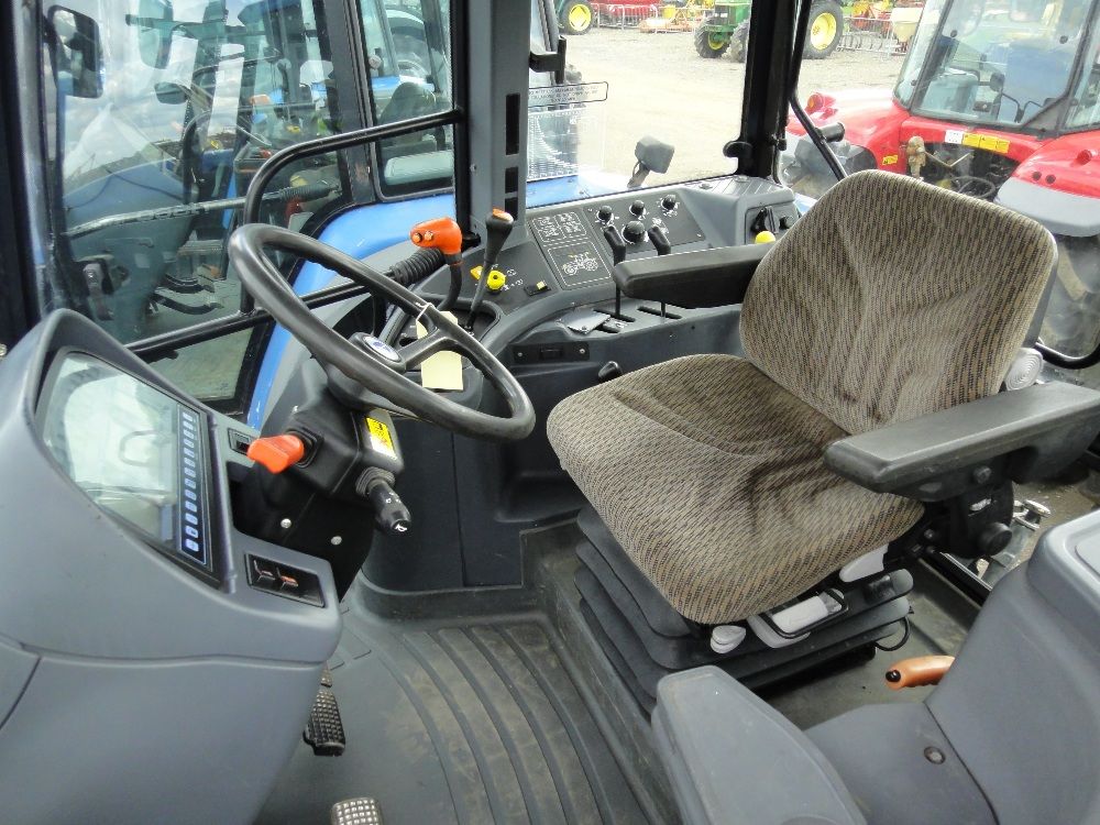 New Holland 8360 inside
